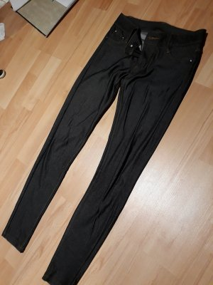 Jeggings in auer Farbe