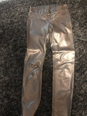 Jeggings color bronce