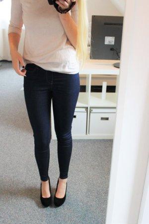 Jeggings / Jeans / Enge Hose / Stretch / Denim Blau