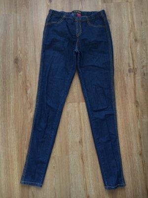 Jeggings Jeans leggings blau denim 34 Röhre