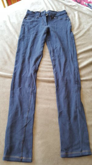 Blue Motion Jeggings dark blue