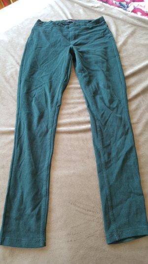 Jeggings Leggings Jeanslook waldgrün S 36 38