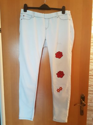 Dsquared2 Jegging gris clair-rouge