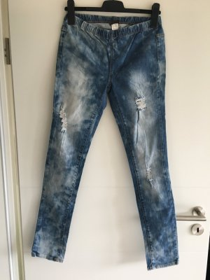 Jeggings mit Fleckenmuster