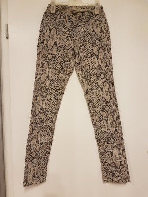 Jeggings mit Pythonprint