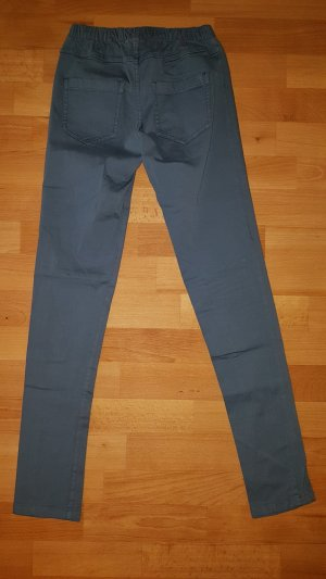 Pieces Jeggings slate-gray-pale blue