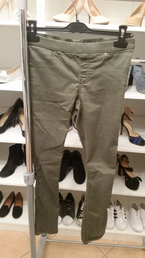 Jeggings/ Treggings Gr. 36 Khaki