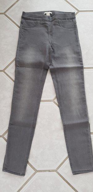 H&M Jeggings grigio chiaro