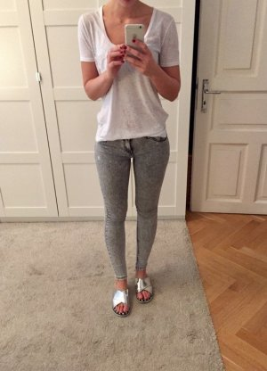 Jeggings von Zara im Used-Look