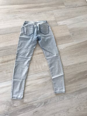 Jeggings Zara hellblau