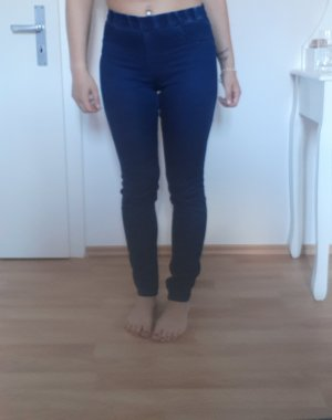 H&M Jeggings azul oscuro