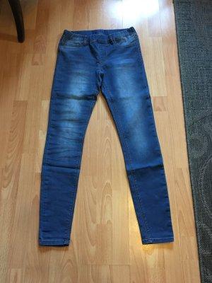 Amisu Jeans elasticizzati blu scuro