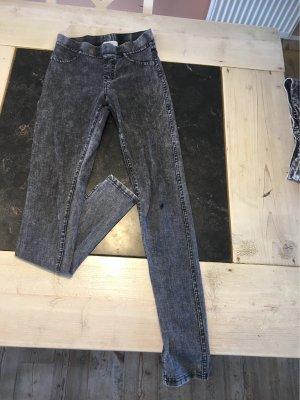H&M Stretch Jeans black-grey
