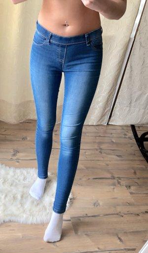 Jeggins in Jeansoptik