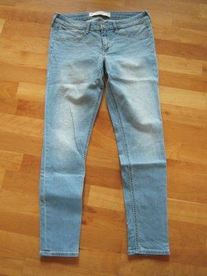 Abercrombie & Fitch Jeans pale blue mixture fibre