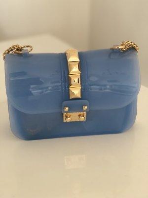 JELLY-BAG MIT NIETEN, Blue