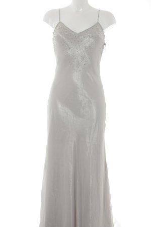 Jennifer Taylor Abendkleid graugrün-hellgrau Elegant