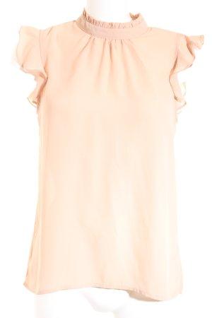Jennifer Taylor ärmellose Bluse nude Elegant