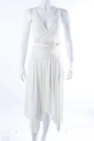 Jennifer Taylor Empirekleid cremeweiß