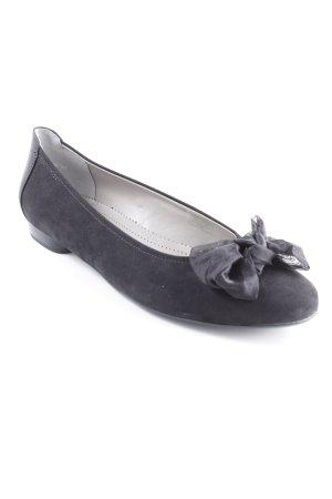 Jenny Ballerinas mit Spitze schwarz Elegant