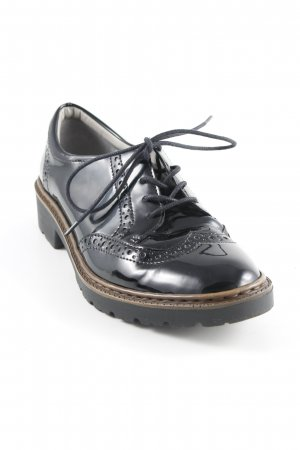 Jenny Wingtip Shoes black-light brown business style
