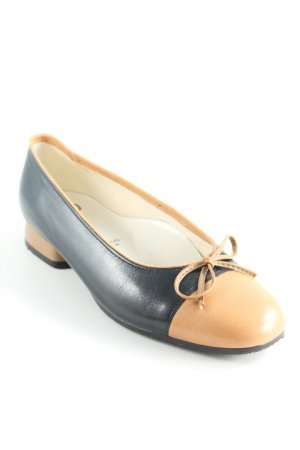 Jenny by ara Ballerinas mit Spitze schwarz-camel Elegant