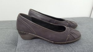 Jenny by ara Mary Jane Ballerinas dark grey leather