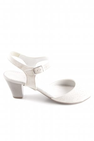 Jenny by ara Peep Toe Pumps white elegant