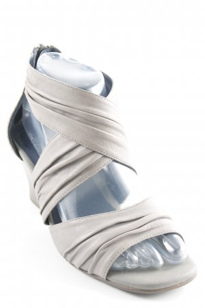 Jenny by ara Peeptoe Pumps grau schlichter Stil