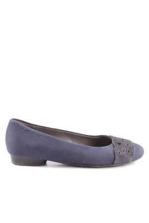 Jenny Ballerines pliables violet élégant
