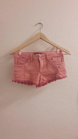 Jennyfer Jeansshorts kurze Hose pink Größe 30 32