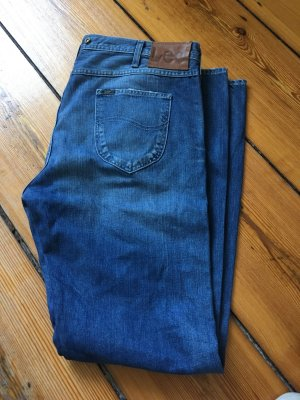 Lee Boyfriend Jeans cornflower blue