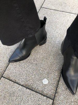 Jensen Boots von Acne 39 in Schwarz Ankle Stiefeletten in Glattleder Acne Studios