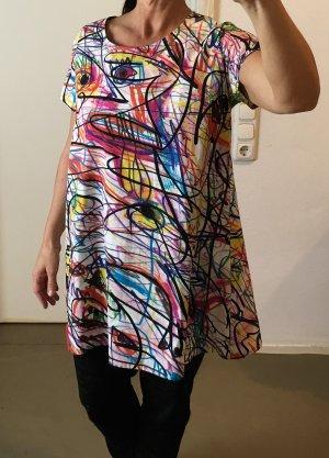 Jeremy Scott adidas T-shirt jurk veelkleurig Katoen