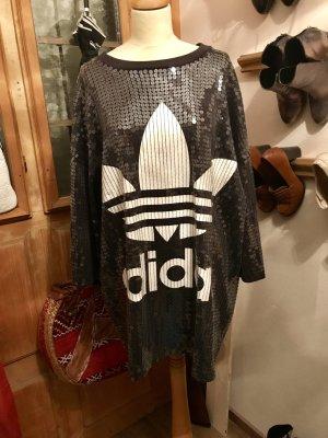 Jeremy Scott adidas Sweater Dress black-white