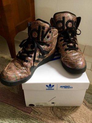 Jeremy Scott for Adidas High-Top Sneaker Rainbow *42*
