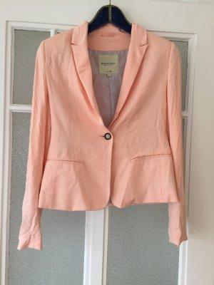 Jersey-Blazer, apricot, peach, Broadway, Größe 38, bequem, weich, helles Futter