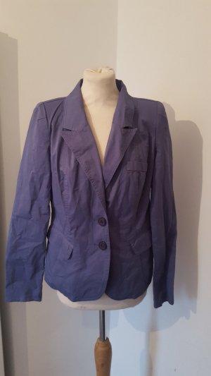 Jersey Blazer Damen B.C. blaulila Größe 38 Baumwolle Jacke
