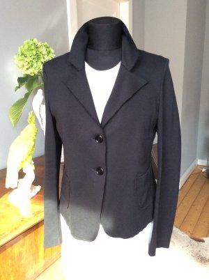 Jersey-Blazer des italienischen Labels Scooter in schwarz