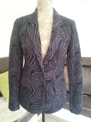 Jersey Blazer Gr. S Vero Moda angesagter Animalprint grau-schwarz