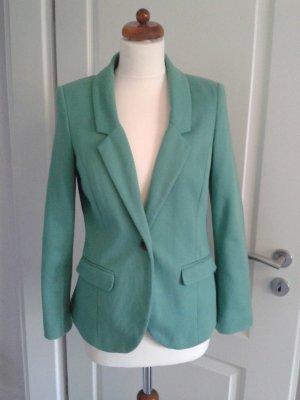 Jersey Blazer in grün