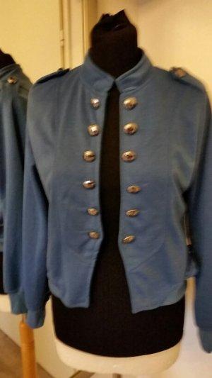 Jersey Blazer mit Knopfleiste Gr. 38/M