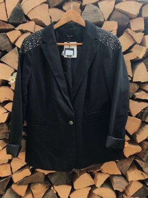 Jersey-Blazer mit Nieten (NEU)