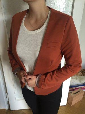 Jersey Blazer von ICHI Gr M Orange