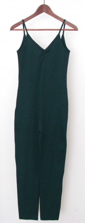 Jersey Catsuit in Forest Green