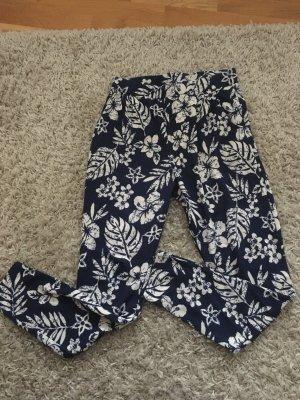 Jersey Hose mit Blumenmuster