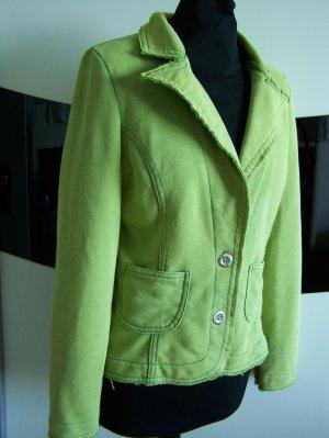 Jersey-Jacke in Gr. M (38-40), 100% Baumwolle