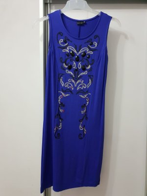 Jersey Kleid Dunkelblau