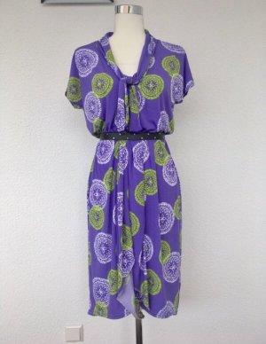 Jersey Kleid im hellen Sommerfarben