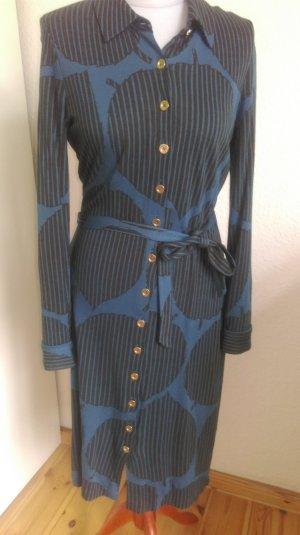 Jersey-Kleid im Retro Design